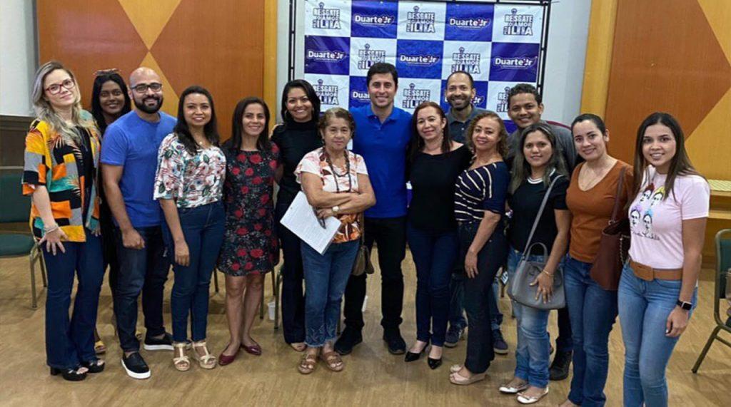 Duarte garante pós-graduação na UEMA para professores da rede municipal de São Luís